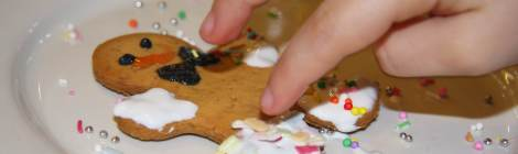 L'OMINO DI PAN PEPATO, MAKE A GINGERBREAD MAN + PDF